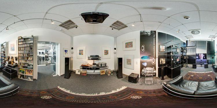 h rstudio hifi m ller gmbh freiburg 360 panorama. Black Bedroom Furniture Sets. Home Design Ideas